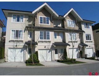 "Photo 1: 78 20560 66TH Avenue in Langley: Willoughby Heights Townhouse for sale in ""Amberleigh"" : MLS®# F2924865"