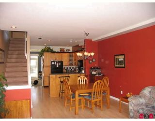"""Photo 4: 52 7250 144TH Street in Surrey: East Newton Townhouse for sale in """"CHIMNEY RIDGE"""" : MLS®# F2803235"""
