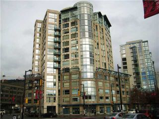 """Main Photo: # 703 283 DAVIE ST in Vancouver: Yaletown Condo for sale in """"PACIFIC PLAZA 1"""" (Vancouver West)  : MLS®# V914123"""
