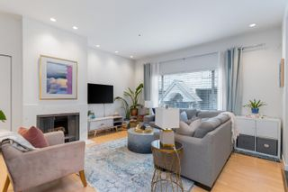 """Photo 3: 819 W 7TH Avenue in Vancouver: Fairview VW Townhouse for sale in """"Ballentyne Square"""" (Vancouver West)  : MLS®# R2620009"""