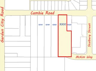Photo 2: 9300 Cambie Road in Richmond: West Cambie Land for sale