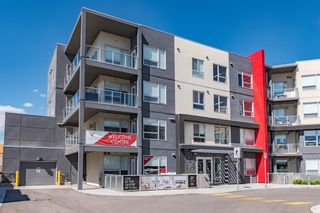 Main Photo: 408 8530 8A Avenue SW in Calgary: West Springs Apartment for sale : MLS®# A1123655