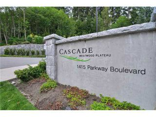 Photo 1: # 705 1415 PARKWAY BV in Coquitlam: Westwood Plateau Condo for sale : MLS®# V1110552