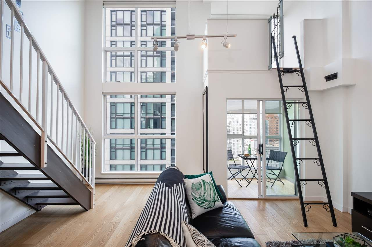 """Main Photo: 1003 1238 SEYMOUR Street in Vancouver: Downtown VW Condo for sale in """"Space Lofts"""" (Vancouver West)  : MLS®# R2417825"""