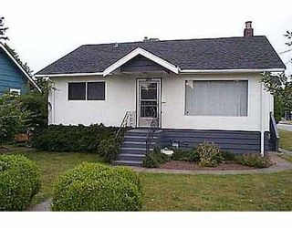 Photo 1: 2144 DUBLIN ST in New Westminster: West End NW House for sale : MLS®# V545299