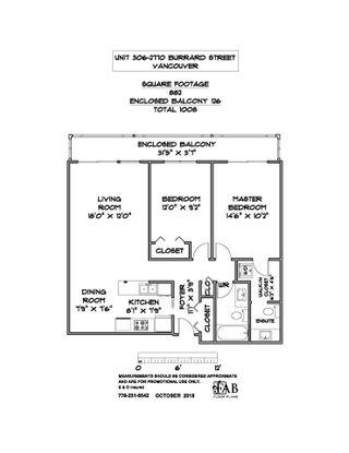 """Photo 20: 306 2770 BURRARD Street in Vancouver: Fairview VW Condo for sale in """"EL BURRARDO"""" (Vancouver West)  : MLS®# R2312149"""