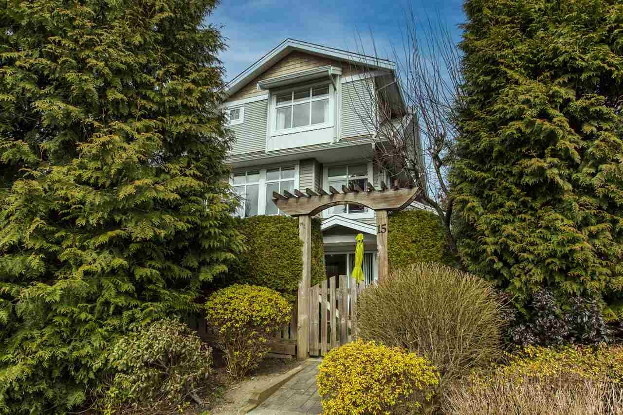 """Main Photo: 15 20449 66 Avenue in Langley: Willoughby Heights Townhouse for sale in """"Nature's Landing"""" : MLS®# R2547952"""