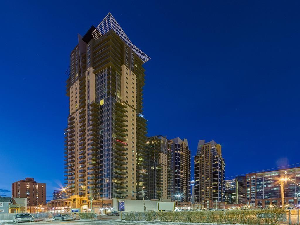 Main Photo: 2602 210 15 Avenue SE in Calgary: Beltline Apartment for sale : MLS®# C4282013