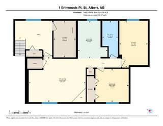 Photo 47: 1 ERINWOODS Place: St. Albert House for sale : MLS®# E4254213