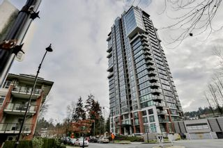 """Photo 1: 303 301 CAPILANO Road in Port Moody: Port Moody Centre Condo for sale in """"The Residences"""" : MLS®# R2031028"""