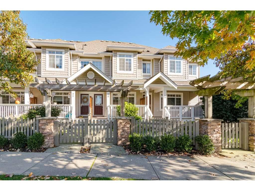 Main Photo: 70 6852 193 STREET in Surrey: Clayton Townhouse for sale (Cloverdale)  : MLS®# R2412408