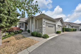 """Photo 1: 7 16888 80 Avenue in Surrey: Fleetwood Tynehead Townhouse for sale in """"STONECROFT"""" : MLS®# R2610789"""