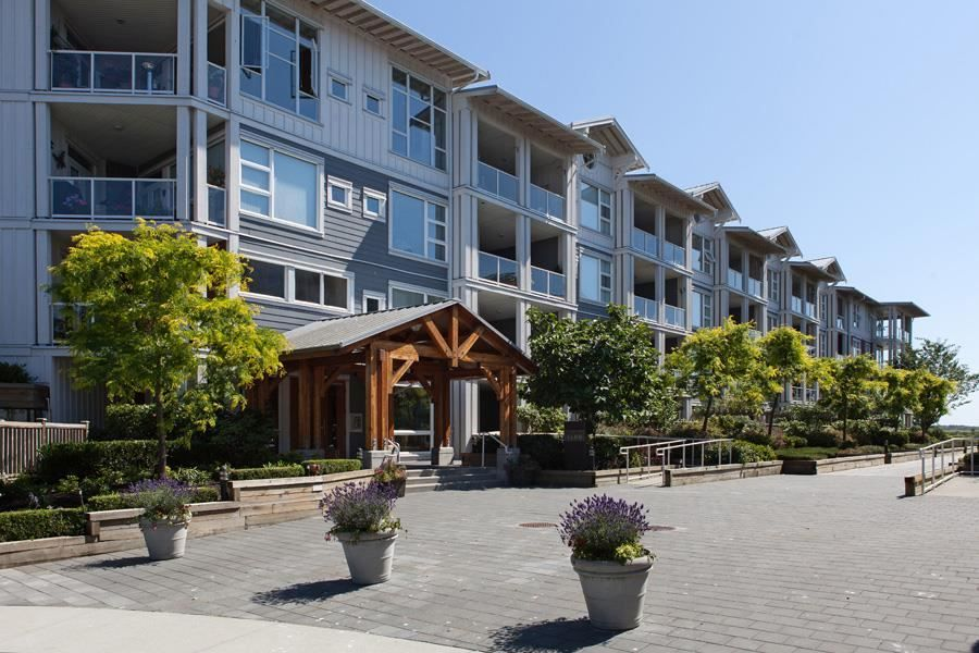 """Main Photo: 109 4600 WESTWATER Drive in Richmond: Steveston South Condo for sale in """"COPPER SKY"""" : MLS®# R2590679"""