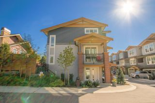 """Photo 1: 18 24086 104 Avenue in Maple Ridge: Albion Townhouse for sale in """"WILLOW"""" : MLS®# R2503932"""