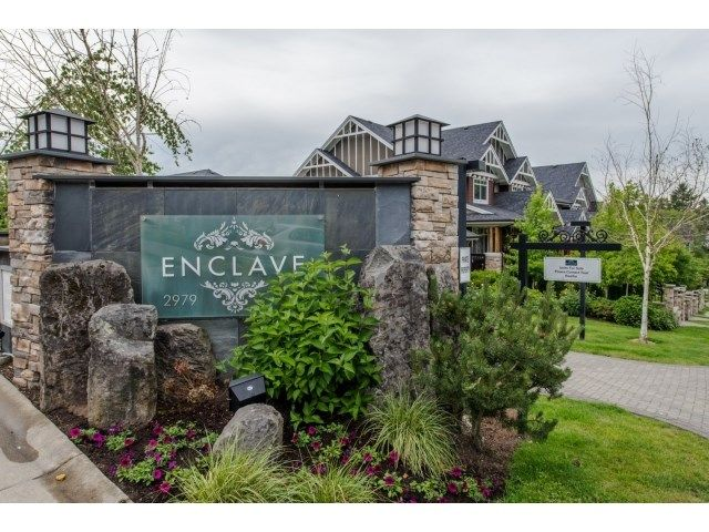 "Main Photo: 110 2979 156 Street in Surrey: Grandview Surrey Townhouse for sale in ""ENCLAVE"" (South Surrey White Rock)  : MLS®# R2074155"