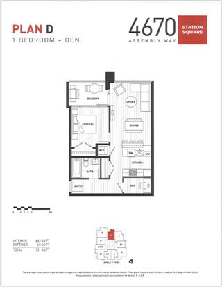 """Photo 19: 3907 4670 ASSEMBLY Way in Burnaby: Metrotown Condo for sale in """"STATION SQUARE 2"""" (Burnaby South)  : MLS®# R2332808"""