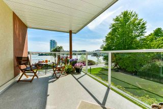 "Photo 3: 204 1230 QUAYSIDE Drive in New Westminster: Quay Condo for sale in ""Tiffany Shores"" : MLS®# R2561902"
