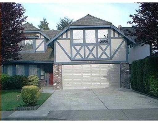 Main Photo: 10120 Hollywell Dr in Richmond: Steveston North House for sale : MLS®# V536097