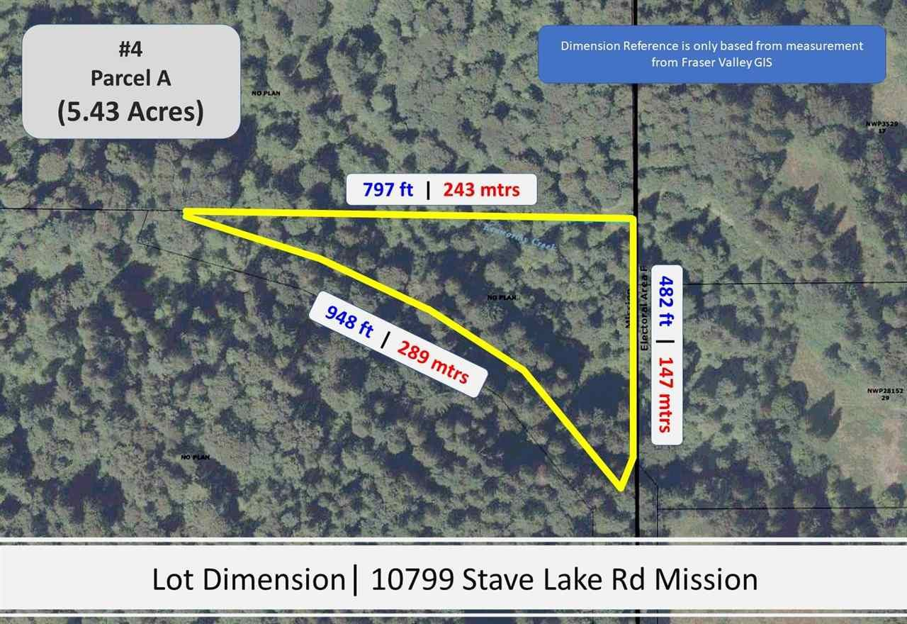 Photo 6: Photos: Sorrel 10577 STAVE LAKE Road in Mission: Durieu Land for sale : MLS®# R2583849