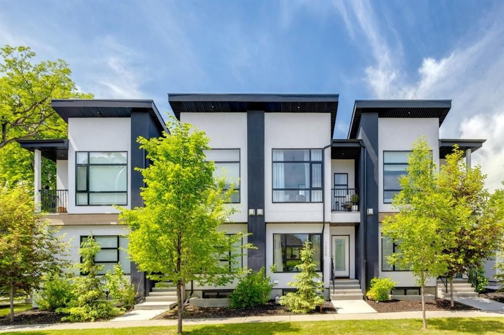 Main Photo: 1205 1 Street NE in Calgary: Crescent Heights Row/Townhouse for sale : MLS®# A1101476