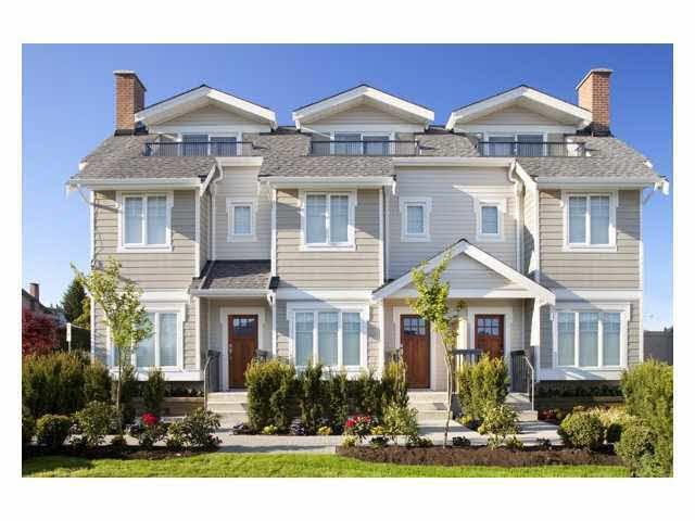 Main Photo: 16 7198 BARNET Road in Burnaby: Westridge BN Townhouse for sale (Burnaby North)  : MLS®# R2071672