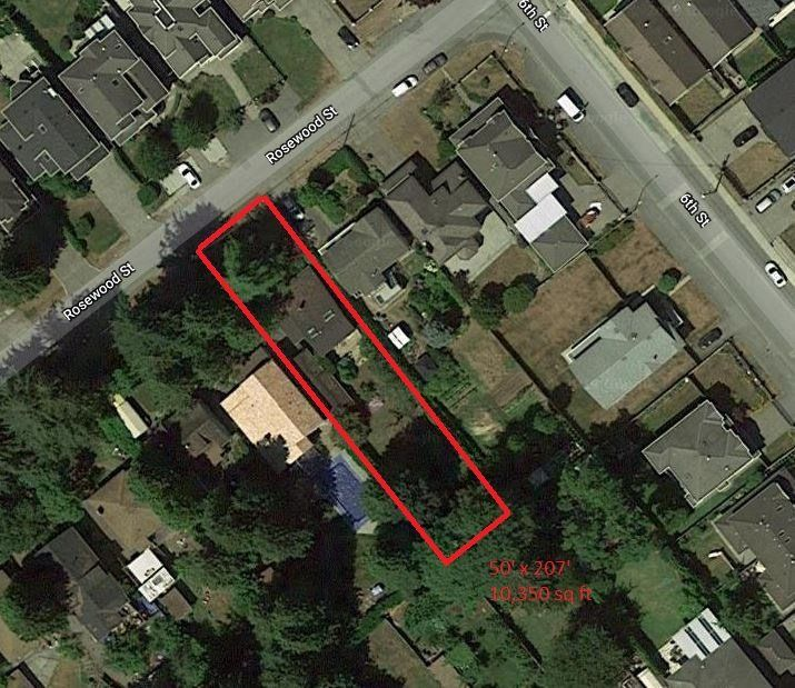 Main Photo: 7860 ROSEWOOD Street in Burnaby: Burnaby Lake Land for sale (Burnaby South)  : MLS®# R2340235