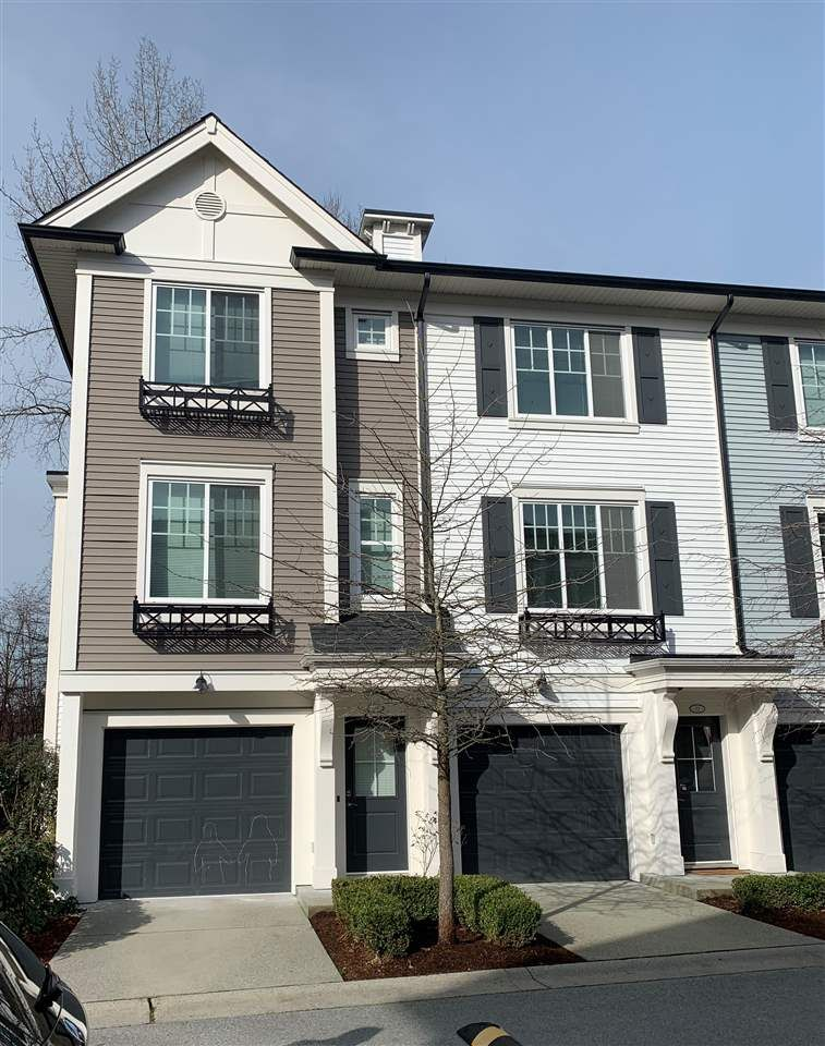 Main Photo: 72 3010 RIVERBEND Drive in Coquitlam: Coquitlam East Townhouse for sale : MLS®# R2435466