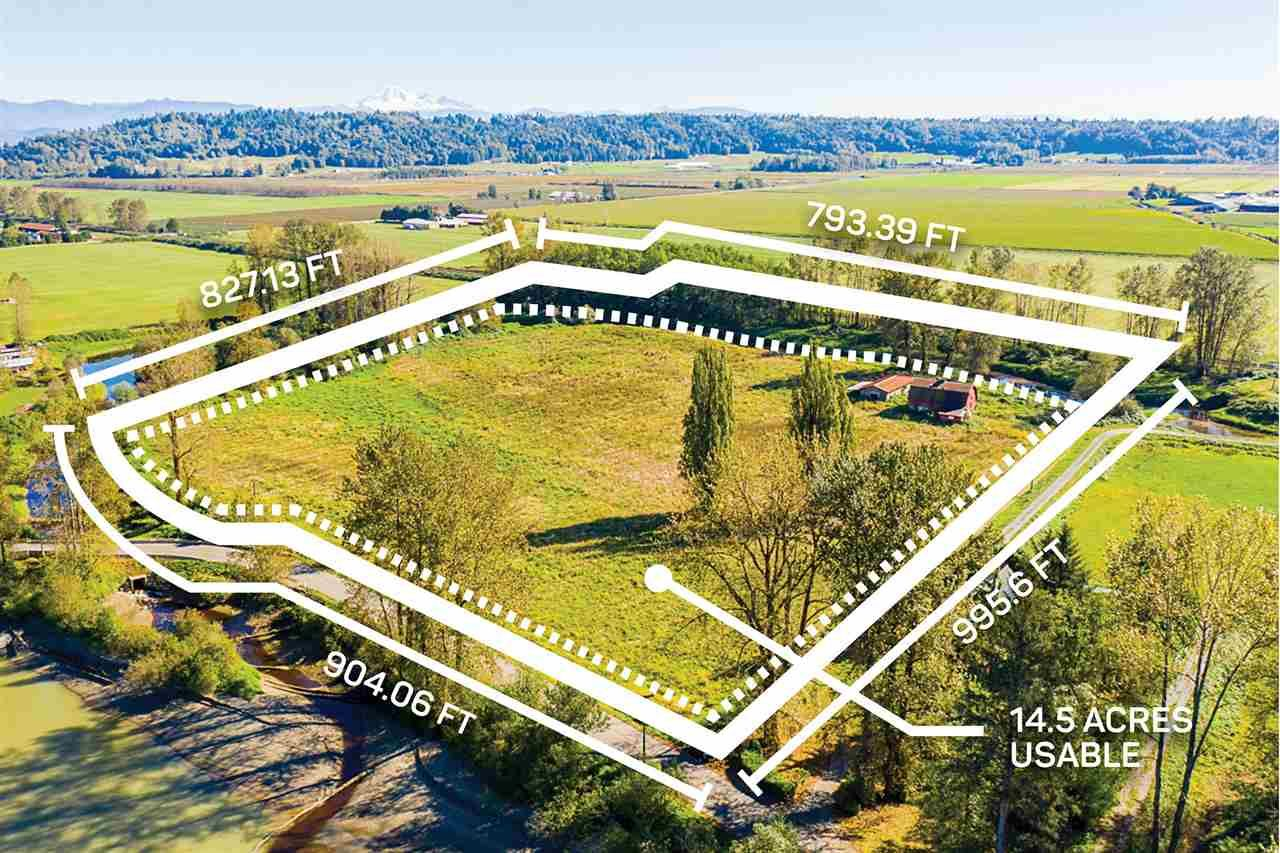 Main Photo: 27612 RIVER Road: Land for sale in Abbotsford: MLS®# R2502540