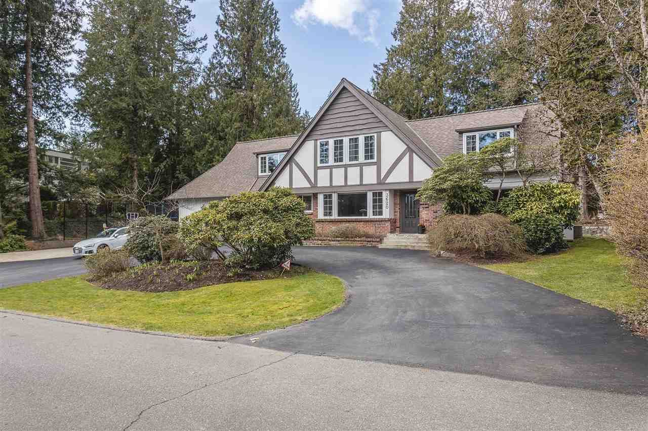 Main Photo: 3620 WESTMOUNT Road in West Vancouver: Westmount WV House for sale : MLS®# R2550593