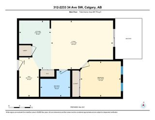 Photo 26: 312 2233 34 Avenue SW in Calgary: Garrison Woods Apartment for sale : MLS®# A1081136