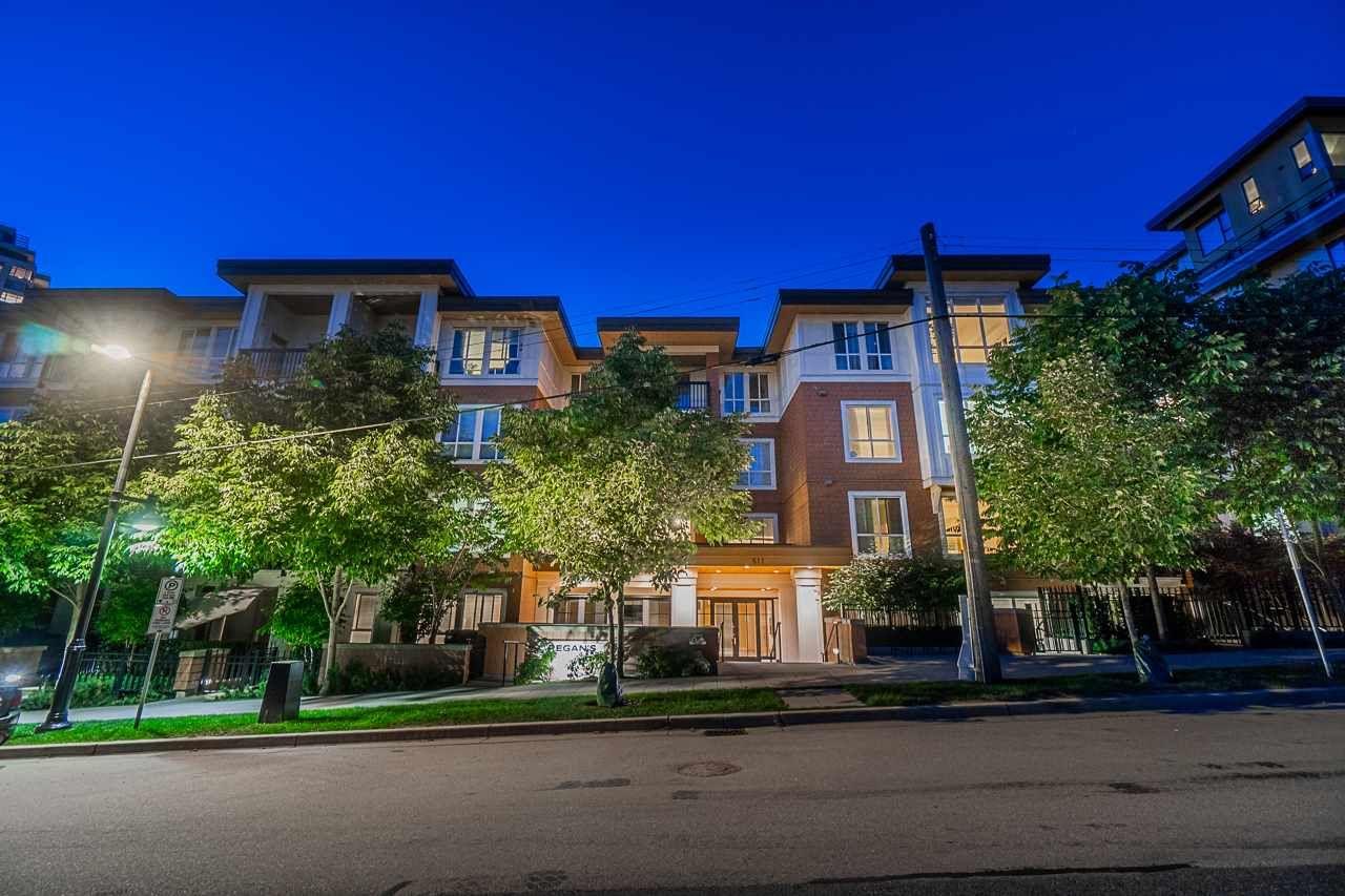 Main Photo: 306 611 REGAN AVENUE in Coquitlam: Coquitlam West Condo for sale : MLS®# R2485981