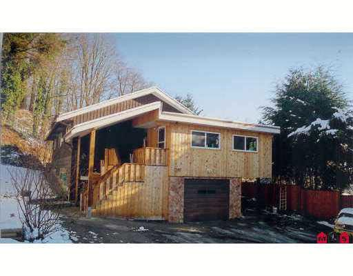 Main Photo: 7380 PROCTOR STREET in : Mission BC House for sale : MLS®# F2701081