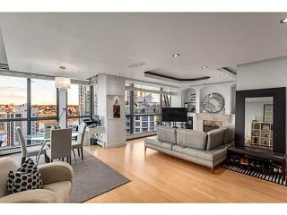 """Photo 4: 1502 1177 PACIFIC Boulevard in Vancouver: Yaletown Condo for sale in """"PACIFIC PLAZA"""" (Vancouver West)  : MLS®# V1122980"""