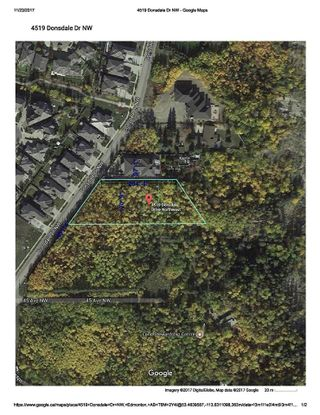 Photo 2: 4519 DONSDALE Drive in Edmonton: Zone 20 Vacant Lot for sale : MLS®# E4227514