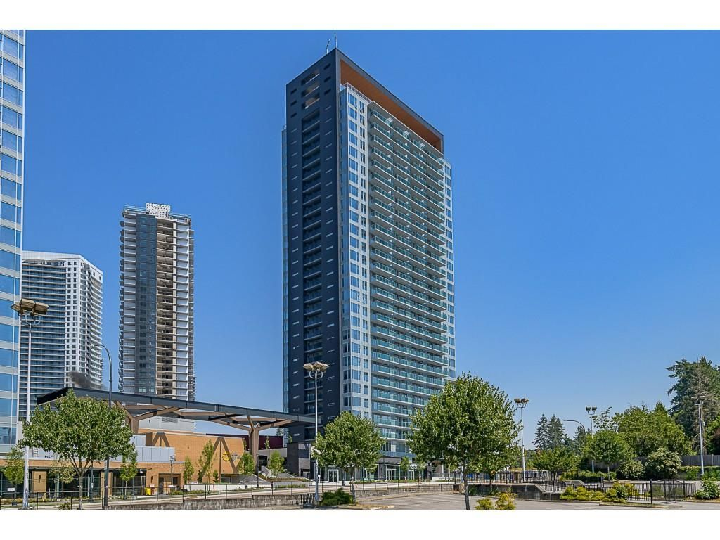 """Main Photo: 2806 13655 FRASER Highway in Surrey: Whalley Condo for sale in """"King George Hub 2"""" (North Surrey)  : MLS®# R2609676"""