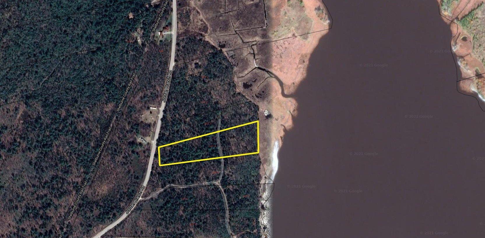 Main Photo: Lot 4 Jordan Branch Road in Jordan Branch: 407-Shelburne County Vacant Land for sale (South Shore)  : MLS®# 202108868