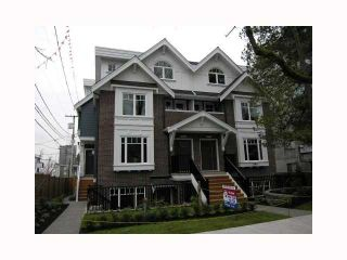 Photo 1: 2838 SPRUCE Street in Vancouver: Fairview VW Townhouse for sale (Vancouver West)  : MLS®# V817088