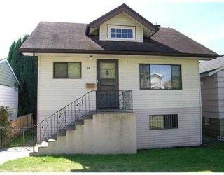 Photo 1: 50 E 59TH AV in Vancouver: South Vancouver House for sale (Vancouver East)  : MLS®# V555403