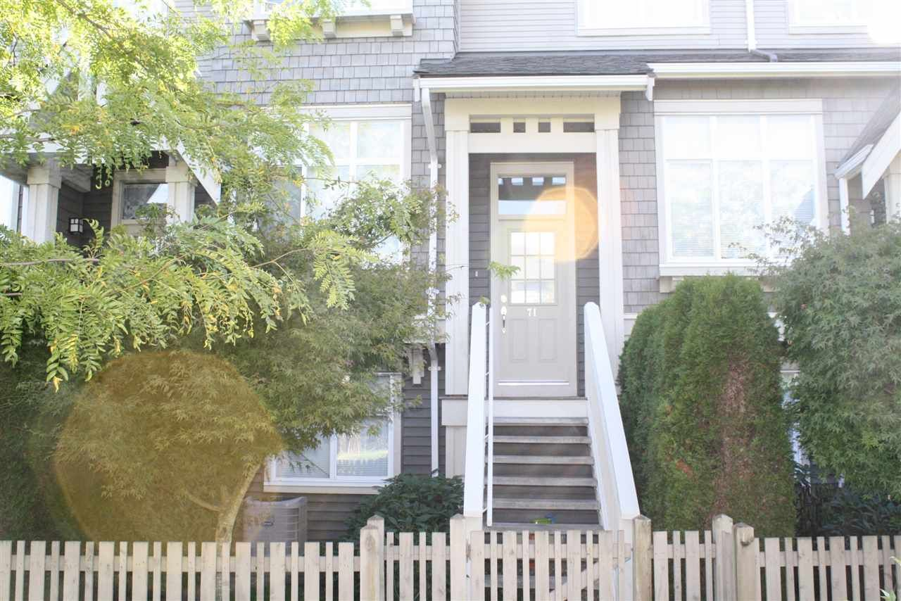 """Photo 1: Photos: 71 9800 ODLIN Road in Richmond: West Cambie Townhouse for sale in """"HENNESSY GARDEN"""" : MLS®# R2004610"""