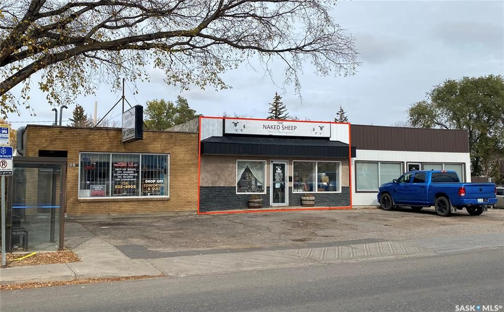 Main Photo: 104 College Avenue East in Regina: Broders Annex Commercial for sale : MLS®# SK873788