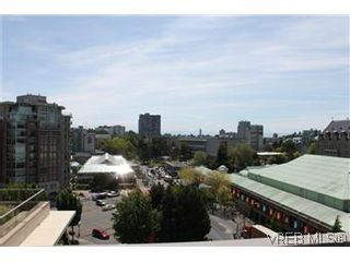 Photo 7: 807 708 Burdett Avenue in VICTORIA: Vi Downtown Condo Apartment for sale (Victoria)  : MLS®# 288510