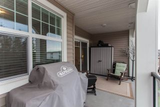 """Photo 19: 303 17712 57A Avenue in Surrey: Cloverdale BC Condo for sale in """"West on the Village Walk"""" (Cloverdale)  : MLS®# R2246954"""