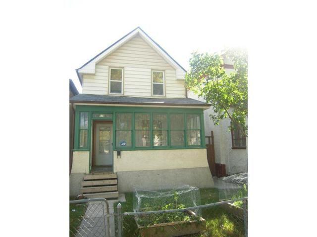Main Photo: 519 Toronto Street in WINNIPEG: West End / Wolseley Residential for sale (West Winnipeg)  : MLS®# 1219749