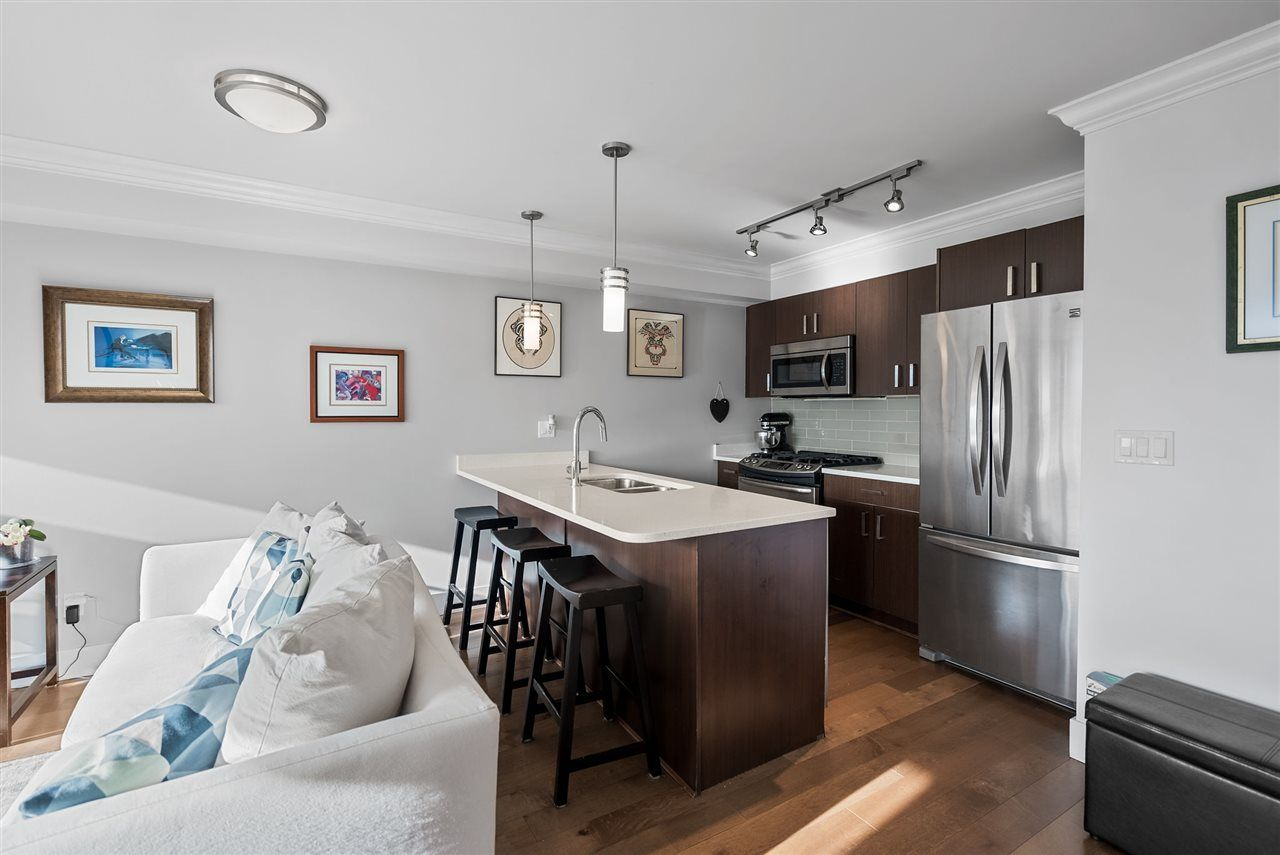 """Photo 9: Photos: 206 857 W 15TH Street in North Vancouver: Mosquito Creek Condo for sale in """"The Vue"""" : MLS®# R2534882"""