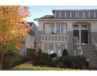 """Photo 1: 158 W 16TH AV in Vancouver: Cambie Townhouse for sale in """"CAMBIE"""" (Vancouver West)  : MLS®# V558231"""
