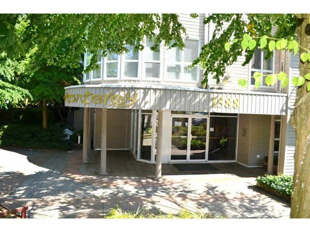 """Main Photo: 306 1588 BEST Street: White Rock Condo for sale in """"THE MONTEREY"""" (South Surrey White Rock)  : MLS®# F1432926"""