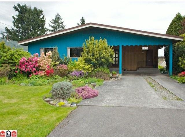 """Main Photo: 14176 MALABAR Avenue: White Rock House for sale in """"MARINE DRIVE WEST"""" (South Surrey White Rock)  : MLS®# F1112678"""