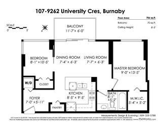 Photo 20: 107 9262 UNIVERSITY Crescent in Burnaby: Simon Fraser Univer. Condo for sale (Burnaby North)  : MLS®# R2422851