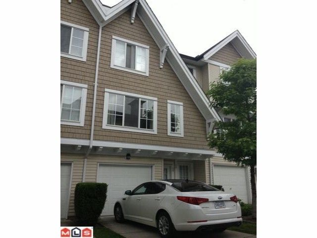 """Main Photo: 59 20560 66TH Avenue in Langley: Willoughby Heights Townhouse for sale in """"AMBERLEIGH"""" : MLS®# F1216794"""