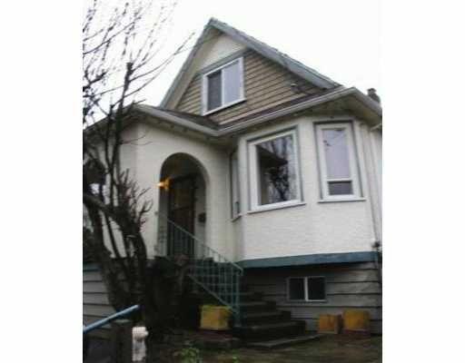 Main Photo: 319 ALBERTA ST in New Westminster: Sapperton House for sale : MLS®# V519262